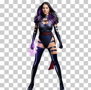 Psylocke Professor X Costume Wonder Woman Cosplay PNG