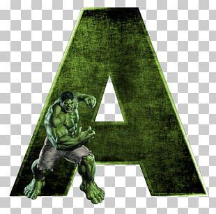 Hulk Letter Alphabet Superhero M PNG