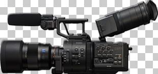 Sony NEX-5 Sony NXCAM NEX-FS700 Video Cameras Super 35 PNG