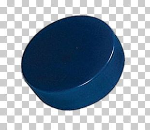 Blue Ice Hockey Puck PNG