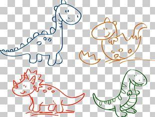 Cartoon Drawing Dinosaur Traditional Animation PNG