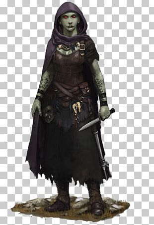 Dungeons & Dragons Pathfinder Roleplaying Game Half-orc Rogue PNG