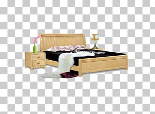 Bed Frame Furniture Mattress PNG