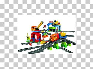 LEGO 10508 DUPLO Deluxe Train Set Lego Duplo Toy Block PNG