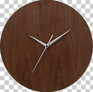 Howard Miller Clock Company Zeeland Mid-century Modern Crate & Barrel PNG