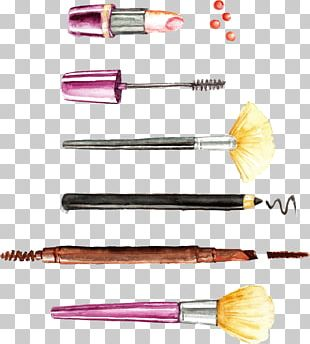 Cosmetics Make-up Makeup Brush Euclidean PNG