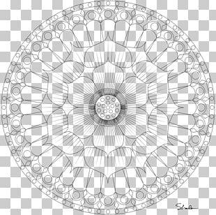 Mandala Coloring Book Nelumbo Nucifera Sacred Geometry Circle PNG