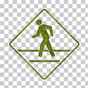 Pedestrian Crossing Traffic Sign Road Manual On Uniform Traffic Control Devices PNG