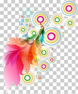 Color Splash Photography Spiral PNG