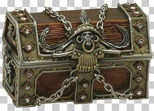 Buried Treasure Piracy St. Augustine Pirate & Treasure Museum Chest PNG