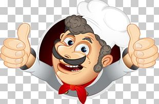 Chef Cooking Illustration PNG