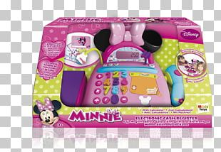 Minnie Mouse Cash Register Price Toy PNG