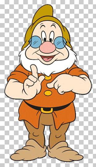 Seven Dwarfs Bashful Dopey Animation PNG