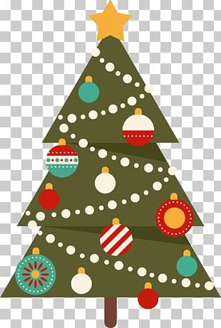 Christmas Tree Ded Moroz PNG