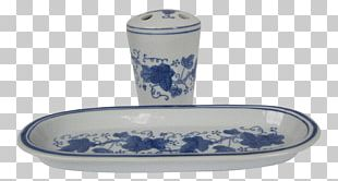 Blue And White Pottery Ceramic Cobalt Blue Porcelain Tableware PNG