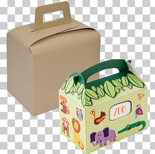 Box Happy Meal Cardboard Packaging And Labeling PNG