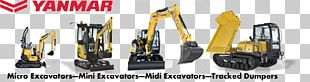 Heavy Machinery Excavator Architectural Engineering Yanmar PNG