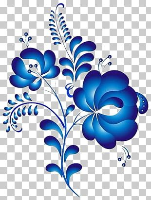 Ornament Painting Floral Design Folk Art PNG