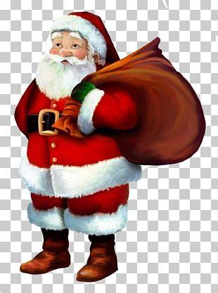 Santa Claus Christmas Eve Christmas Tree Merry Christmas PNG