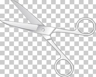 Scissors Hair-cutting Shears Cutting Hair PNG