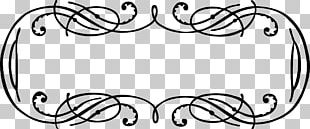 Borders And Frames Calligraphic Frames And Borders Calligraphy Graphics PNG
