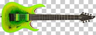 Seven-string Guitar Musical Instruments Electric Guitar Plucked String Instrument PNG