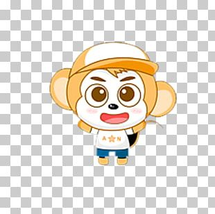 Monkey Cartoon Chinese Zodiac PNG