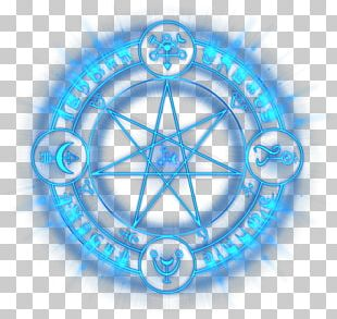 Magic Circle Symbol Spell PNG