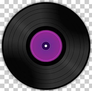 Purple Camera Lens Violet Phonograph Record Magenta PNG