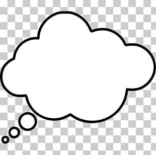 Thought Speech Balloon PNG