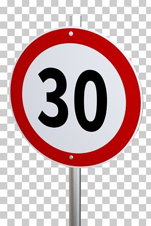 Traffic Sign Speed Limit PNG
