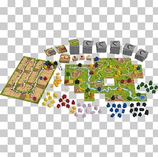 Carcassonne Board Game Set Monopoly PNG