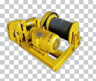Winch Crane Manufacturing Hoist Windlass PNG