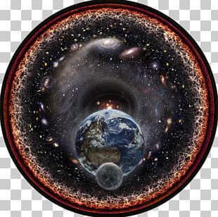 Observable Universe Light Logarithmic Scale Outer Space PNG