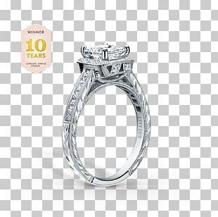 Wedding Ring Wedding Invitation Engagement Ring Princess Cut PNG