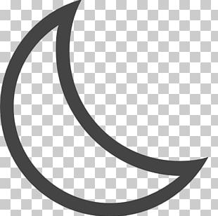 Crescent Lunar Phase Computer Icons Moon PNG