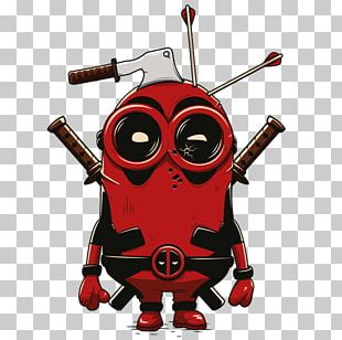 Deadpool T-shirt Minions Cable Film PNG