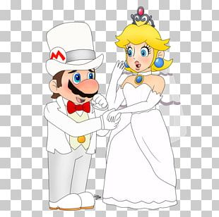 Princess Peach Super Mario Odyssey Marriage Wedding PNG