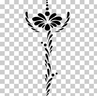 Twig Plant Stem Leaf Body Jewellery PNG