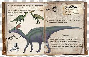 ARK: Survival Evolved Dinosaur Olorotitan Tyrannosaurus Carnotaurus PNG