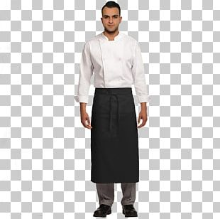 Apron Bistro Clothing Pocket Stain PNG