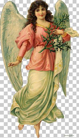 Cherub Victorian Era Angel Christmas PNG