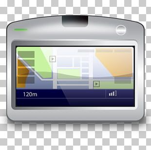 GPS Navigation Systems Computer Icons Global Positioning System Display Device PNG