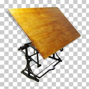 Table Furniture Drawing Board Stool Wood PNG