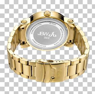 Watch Chronograph Amazon.com Quartz Clock Gold PNG