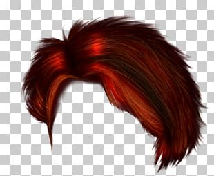 Hair Coloring Hairstyle Red Hair PNG