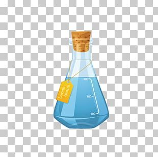 Glass Bottle Reagent PNG