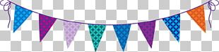 Party Banner Birthday Bunting PNG