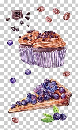 Chocolate Cake Cupcake Muffin Tart PNG