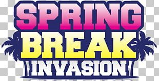 Spring Break Flyer Poster PNG